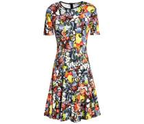 Regan floral-print ponte mini dress