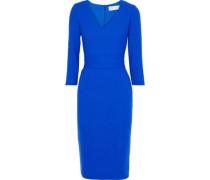 Wool-gauze Dress Navy Size 12