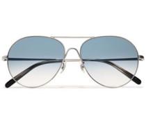 Woman Rockmore Silver-tone Sunglasses Silver
