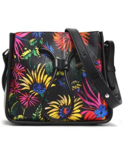 Billig Verkauf Echt Rote Vorbestellung Eastbay 3.1 phillip lim Damen Floral-print leather shoulder bag TmMqOPydvT