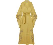 Woman Robes Mustard