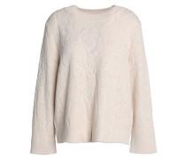 Jacquard-knit Sweater Ivory