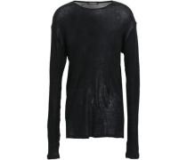 Cotton-jersey Top Black