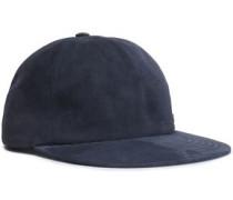 Suede Baseball Cap Gray