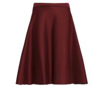 Flared scuba-modal skirt