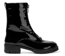 Dustin patent-leather boots