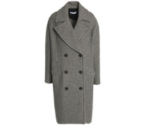 Syday double-breasted woven coat