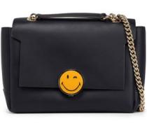 Smiley Bathurst leather shoulder bag