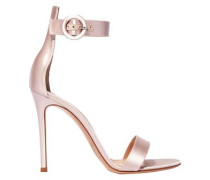 Portofino 105 Satin Sandals Pastel Pink
