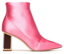 Cainta satin ankle boots