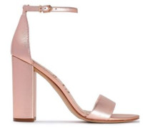 Leather Sandals Rose Gold