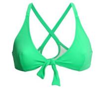 Knotted Bikini Top Bright Green