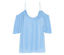 Flight Phase cold-shoulder modal-jersey top