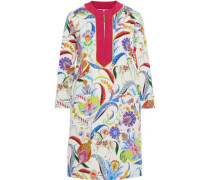 Printed Cotton Dress Multicolor