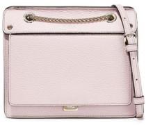 Like Mini Pebbled-leather Shoulder Bag Lilac Size --