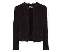 Coffey frayed bouclé-tweed jacket