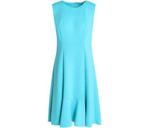 Fluted jersey dress