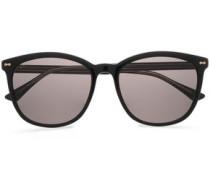 D-frame Acetate Sunglasses Black Size --