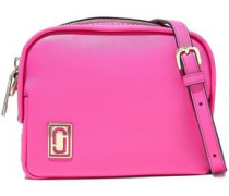 Mini Squeeze Leather Shoulder Bag Bright Pink Size --