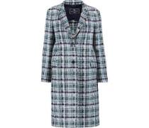Tweed Coat Blue