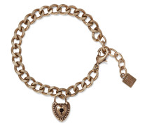 Woman Agatha Oxidized Gold-plated Bracelet Brass