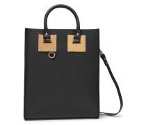 Albion Mini Leather Tote Black Size --