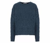 Jelan ribbed bouclé-knit sweater