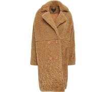 Shearling Coat Camel Size 14
