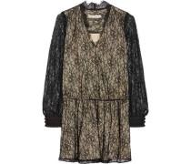 Deena Chantilly lace mini dress