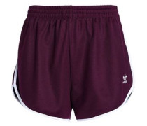 Cotton-blend jersey shorts