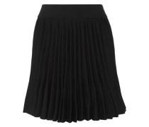 Japon pleated cady mini skirt