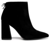 Grandy velvet ankle boots