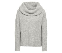 Mélange Alpaca-blend Sweater Light Gray