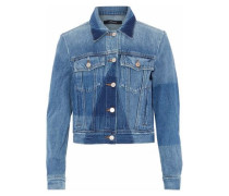 Two-tone denim jacket