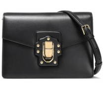 Lucia Leather Shoulder Bag Black Size --