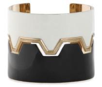 Gold-tone enamel bracelet
