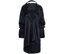 Beverly Silk-satin Blouse Black