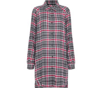 Checked Flannel Nightdress Multicolor