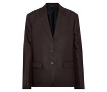 Linen-twill blazer