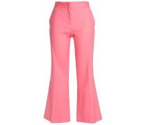 Angelina cotton-blend kick-flare pants