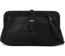 Suede Shoulder Bag Black Size --