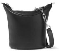 Ace Leather Shoulder Bag Black Size --