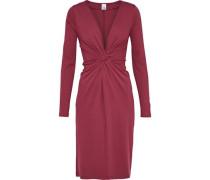 Linda twist-front stretch-knit dress