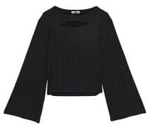 Celtli cutout stretch-knit top