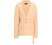 Washed-silk Blazer Blush