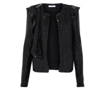 Waklyn sequined woven jacket