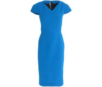 Tournay wool-blend crepe dress
