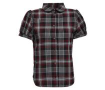 Eugenie Checked Jacquard Shirt Gray