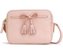 Hayes Street Bow-embellished Pebbled-leather Shoulder Bag Blush Size --