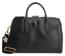 Vere Barrel appliquéd leather shoulder bag